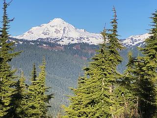 Glacier Peak from West Cady Ridge 11/21/19