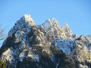 Russian Butte, full winter glory