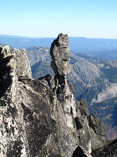 Sherpa Balanced Rock with main summit