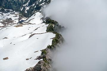 ridge / clouds