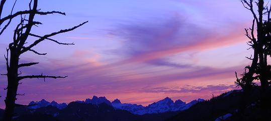 Weird sunset shot