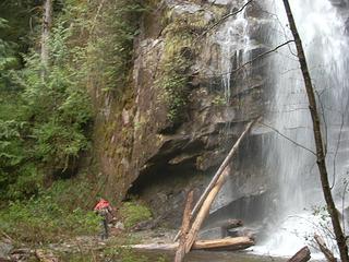 Malachi and water falls