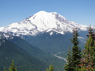 Rainier from Crystal Peak.