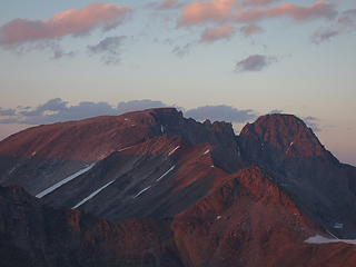 Sunset over Granite Peak