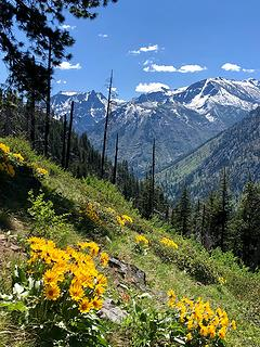 Icicle Ridge via Fourth of July Creek 5/1019