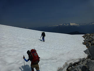 Snowfield on the east side of Snow King