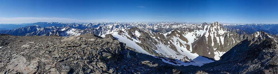 Gardner Mountain summit panorama