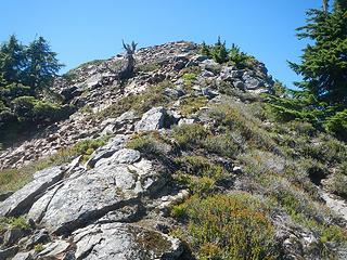 summit visible