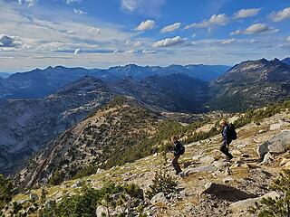 We were all in awe of Oregon's Wallowa Mountains and their peculiar geology