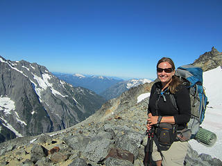 Sahale Glacier camp overnight 064