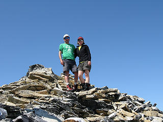 wamtngal & Just Todd on Hinman summit