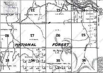 shown on 1960 map
