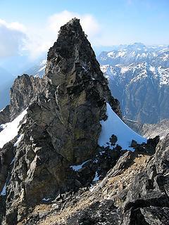 Summit from false summit