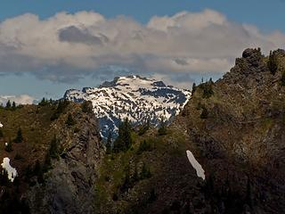 Big Snow Mountain from the PCT