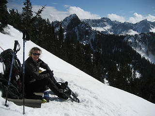Lori on Kendall Ridge