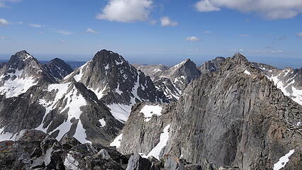 View north from East Twin