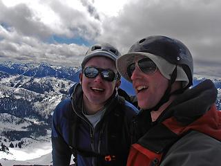 Me and Josh on Reynolds summit