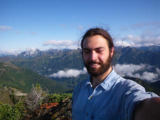 morning on Mt. Hopper