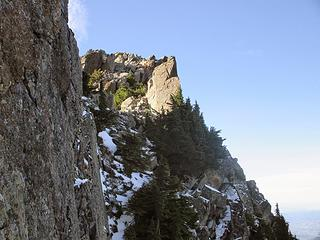 the ledge and the summit