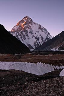 113- Last light on K2