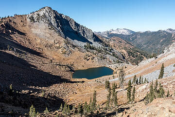 deer lake and siligo peak