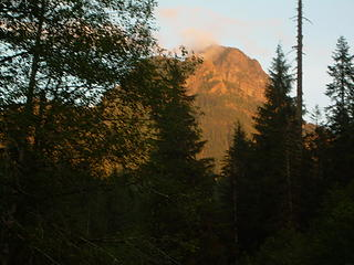 Sunset on Mt. Bullon