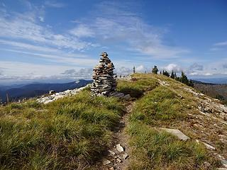 Summit Cairn on Lookout Mtn, 6789.'