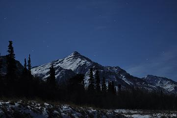 Eastern Alaska Range at night (4)