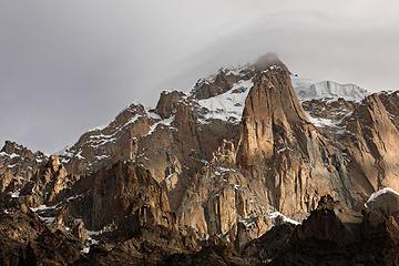 32- Paiyu Peak spires