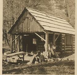 Enchanted Valley workshop/shelter 1938