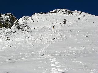 Nearing Maude's summit