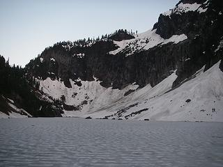 Lake Serene from Lunch Rock