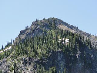 Crystal Peak from Crystal Lakes trail.