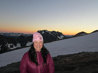 Sahale Glacier camp overnight 058