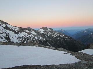 Sahale Glacier camp overnight 057