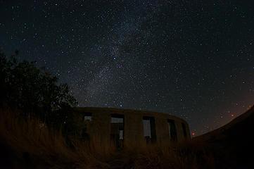 Stonehenge Milky Way