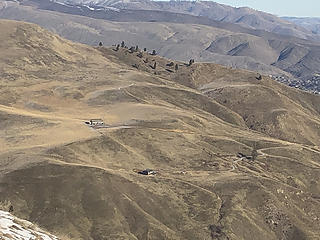 Some homes on No. 1 Canyon