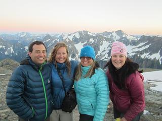 Sahale Glacier camp overnight 056