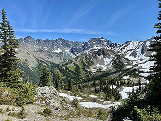 The Needles and Mount Deception