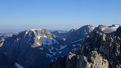 Desolation Peak on left