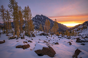 Headlight Basin Sunrise