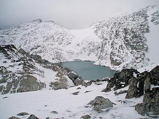 Brynhild (Isolation) Lake upper Enchantments 10/6/07