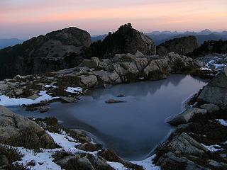 Dawn at View Tarn & Persis