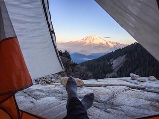 Morning views from Upper Blum