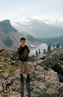 Daniel near the same spot in Fall 2003