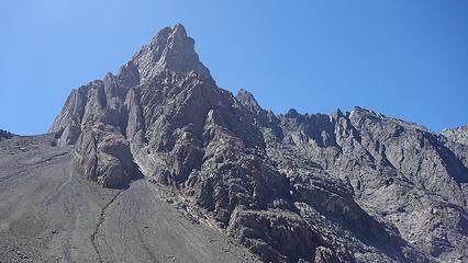 Cerro Arenas SE Face