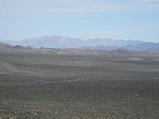 The Coxcomb Range