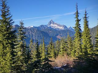 Sloan Peak from West Cady Ridge 11/21/19