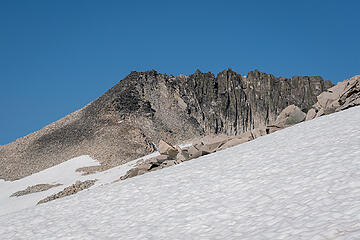 Hinman summit ridge