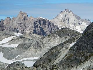 Pyroclastic Peak and Mount Cayley
